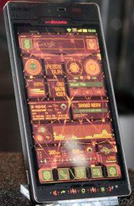 El SH-06D NERV de Sharp es un teléfono inteligente de ciencia ficción que salió de tus sueños de anime