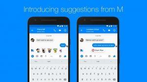 El asistente M de Facebook con tecnología de inteligencia artificial ahora te dará sugerencias de chat en Messenger