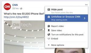 El botón de repetición de Facebook es tu nuevo salvador de tus molestos amigos