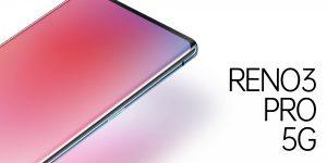 El diseño de Oppo Reno 3 Pro 5G presentado oficialmente por el vicepresidente de la compañía
