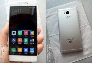 El diseño de Xiaomi Redmi 4 revela el cuerpo de metal y el escáner de huellas dactilares