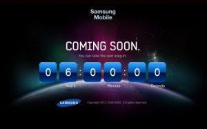 El dispositivo Next Galaxy de Samsung tiene un sitio web oficial con una cuenta regresiva