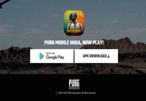El enlace de descarga de PUBG Mobile India aparece momentáneamente en el sitio web oficial