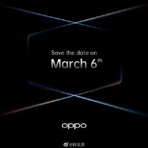 El evento de lanzamiento de OPPO Find X2 se llevará a cabo el 6 de marzo