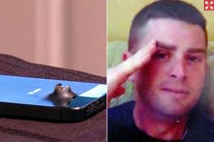 El iPhone 5S salva la vida de un soldado de un terrorista suicida