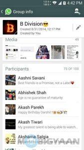El límite de invitaciones al chat grupal de WhatsApp aumentó de 50 a 100