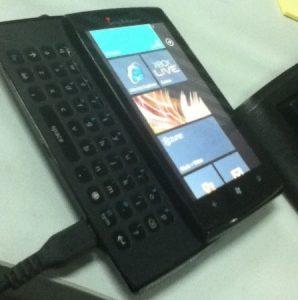 El misterio del teléfono Windows de Sony Ericsson