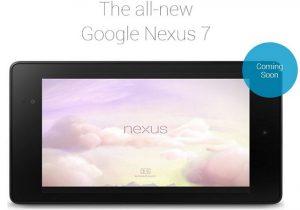 El nuevo Google Nexus 7 llegará a la India el próximo mes