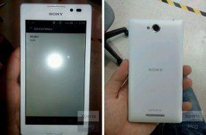 El nuevo Sony Xperia S39h sale a la luz en línea