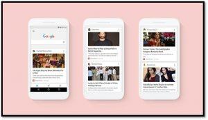 El nuevo feed personalizado de Google comienza a implementarse para los usuarios de la India