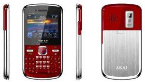 El nuevo teléfono dual SIM de Akai, la hoja Connect