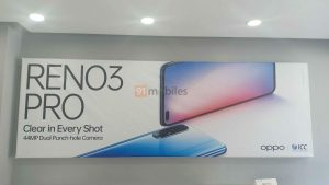 El póster teaser de OPPO Reno 3 Pro confirma las cámaras frontales duales de 44 MP