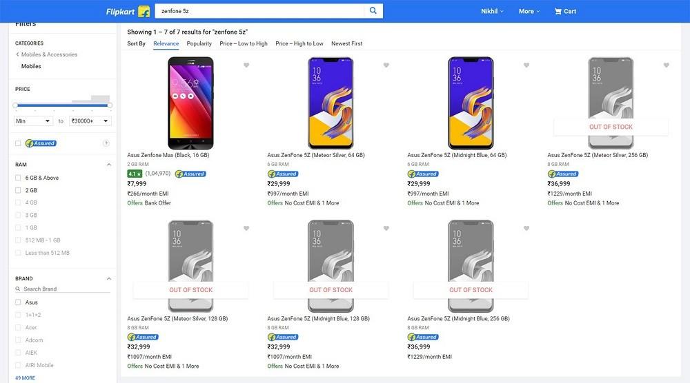 asus-zenfone-5z-india-precio-filtrado-online