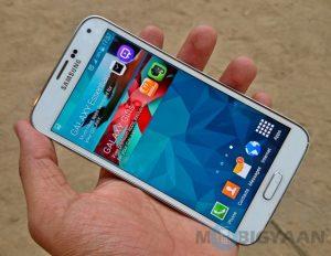 Samsung Galaxy S5 ahora disponible para Rs 39999