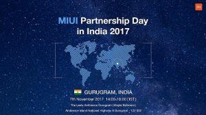 El primer Día de Asociación MIUI de Xiaomi en India se celebrará el 7 de noviembre
