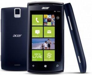 El primer Windows Phone 'Allegro' de Acer se lanza en Francia y llegará a la India en noviembre