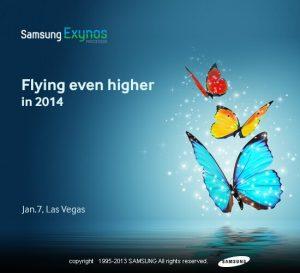 El procesador Exynos de próxima generación de Samsung se presentará en CES 2014