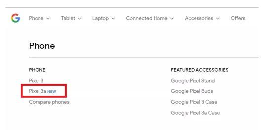 Google-Store-Pixel-3a