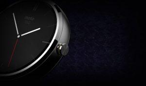 Se anuncia el reloj inteligente Motorola Moto 360;  se ejecuta en el sistema operativo Google Android Wear