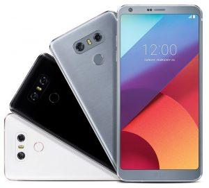 El renderizado de prensa filtrado muestra el LG G6 en diferentes colores
