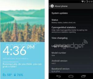 El sistema operativo CyanogenMod 11S emerge en capturas de pantalla filtradas de OnePlus One