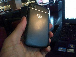 El smartphone BlackBerry 10 N-Series captado por la cámara