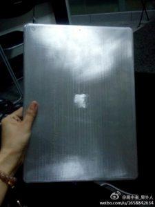 El supuesto iPad Pro con una pantalla de 12,9 pulgadas gotea