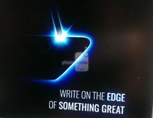 El teaser del Samsung Galaxy Note 7 confirma la pantalla de borde curvo