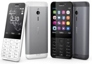 El teléfono con funciones Nokia 230 Dual SIM con cámara para selfies de 2 MP se lanzó en India por Rs.  3869