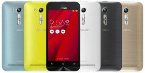 El teléfono inteligente Asus Zenfone Go 4.5 2nd Gen lanzado en India por Rs.  5299