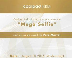 El teléfono inteligente Coolpad Sky 3 centrado en selfies se lanzará en India el 10 de agosto
