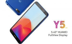 El teléfono inteligente Huawei Y5 Lite Android Go se vuelve oficial con una pantalla 18: 9 de 5.45 pulgadas