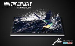 El teléfono inteligente Jolla se lanzará en India el 23 de septiembre