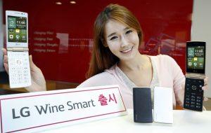 El teléfono inteligente LG Wine Smart clamshell Android anunciado en Corea del Sur