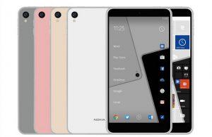 El teléfono inteligente Nokia C1 muestra la superficie;  Puede venir en variante de Android y Windows