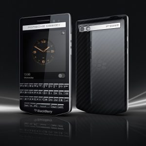 Se anuncia el smartphone QWERTY premium BlackBerry Porsche Design P'9983