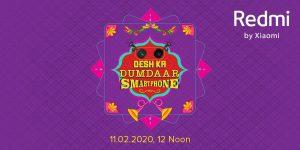 El teléfono inteligente Redmi 9A se lanzará en India el 11 de febrero
