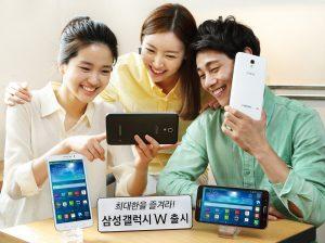 El teléfono inteligente Samsung Galaxy W presentado con una pantalla de 7 pulgadas