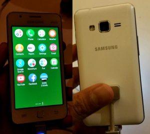 El teléfono inteligente Samsung Z1 Tizen saldrá a la venta en India esta semana por Rs.  5700