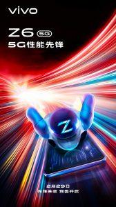 El teléfono inteligente Vivo Z6 5G se lanzará en China el 29 de febrero