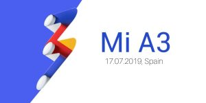 El teléfono inteligente Xiaomi Mi A3 Android One está listo para ser presentado el 17 de julio