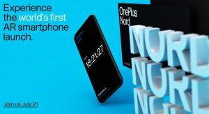 El teléfono inteligente de gama media OnePlus Nord se lanzará oficialmente el 21 de julio