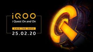 El teléfono inteligente iQOO 3 5G se lanzará en India el 25 de febrero
