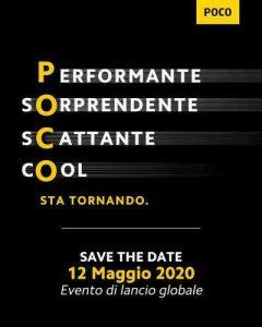El teléfono inteligente insignia POCO F2 Pro se lanzará el 12 de mayo