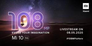 El teléfono inteligente insignia Xiaomi Mi 10 se lanzará en India el 8 de mayo