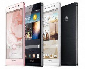 El teléfono inteligente más delgado del mundo, Huawei Ascend P6, se lanzó en India a Rs.  29999