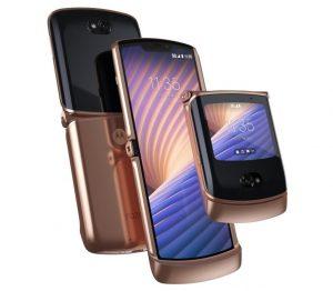El teléfono inteligente plegable Motorola Razr 5G se lanzó en la India por ₹ 1,24,999