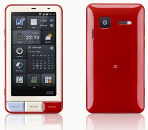 El teléfono japonés INFOBAR A01 muestra su impresionante interfaz de usuario