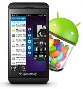 El tiempo de ejecución de BlackBerry Android pronto se actualizará para admitir Android 4.1 Jelly Bean