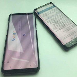 El video filtrado muestra los botones de navegación en pantalla en Samsung Galaxy S8 y S8 +
